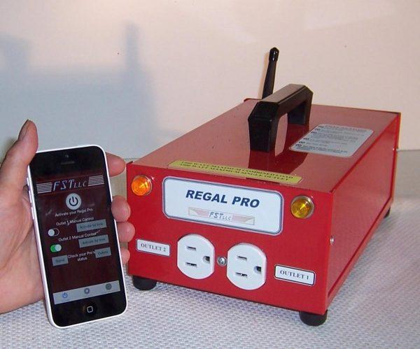 Regal Pro Preheat remote
