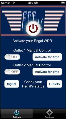 Regalremote WRD