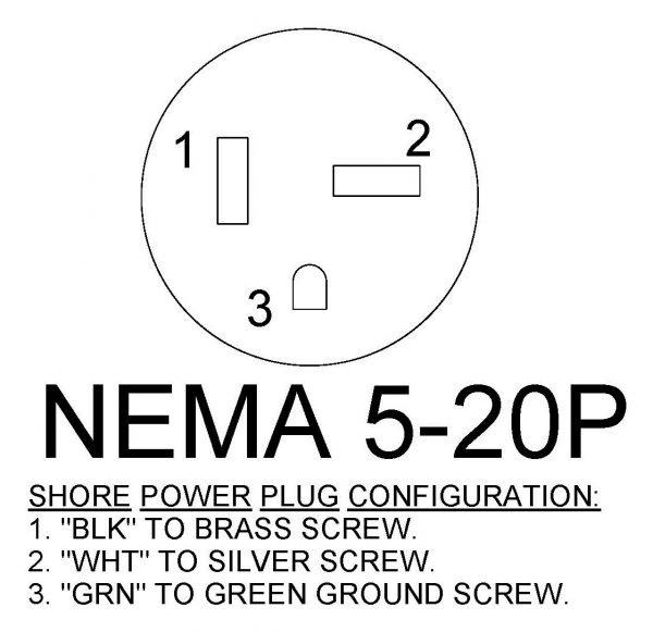 NEMA 5-20P